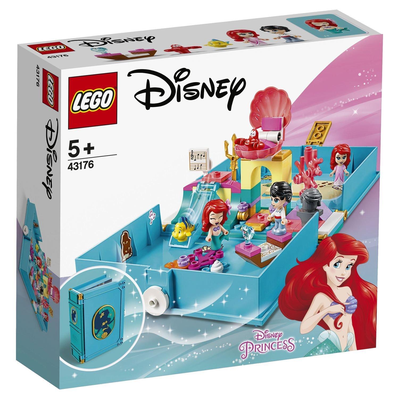 Конструктор Lego Disney Книга сказочных приключений Ариэль конструктор lego disney princess 43176 книга сказочных приключений ариэль