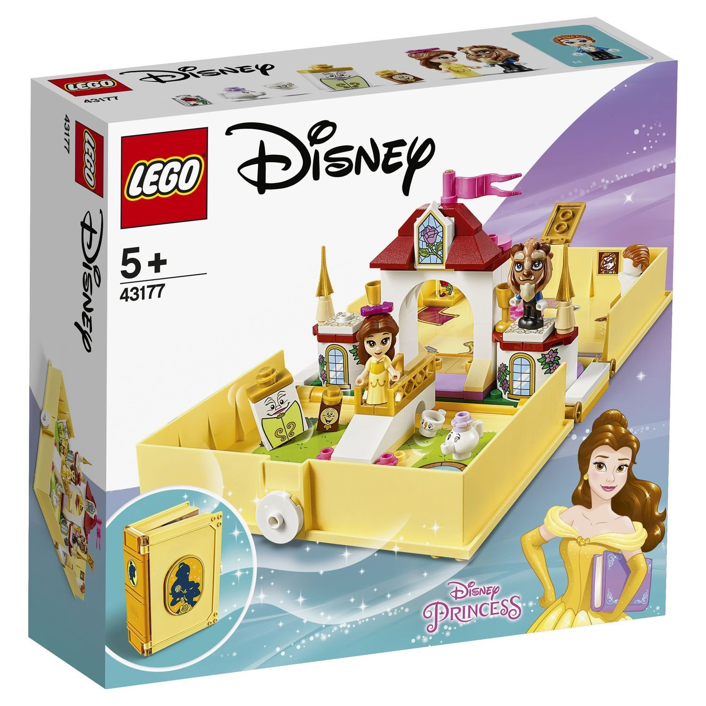 Конструктор Lego Disney Книга сказочных приключений Белль конструктор lego disney princess 43176 книга сказочных приключений ариэль
