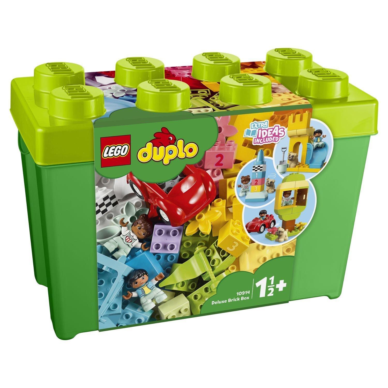 Фото - Конструктор Lego Duplo Большая коробка с кубиками конструктор lego duplo моя первая минни 10897