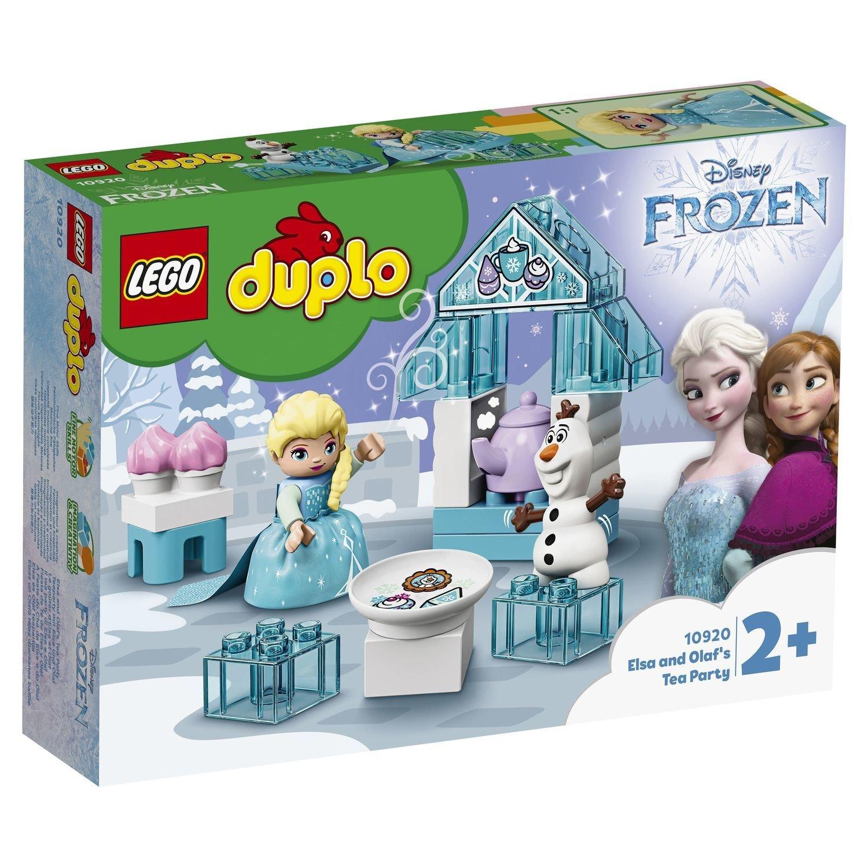 Фото - Конструктор Lego Duplo Чаепитие у Эльзы и Олафа конструктор duplo lego lego mp002xb0085f