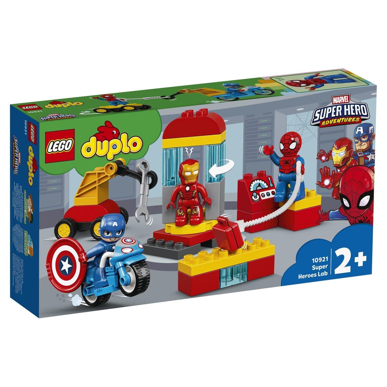 Фото - Конструктор Lego Duplo Лаборатория супергероев конструктор lego duplo моя первая минни 10897