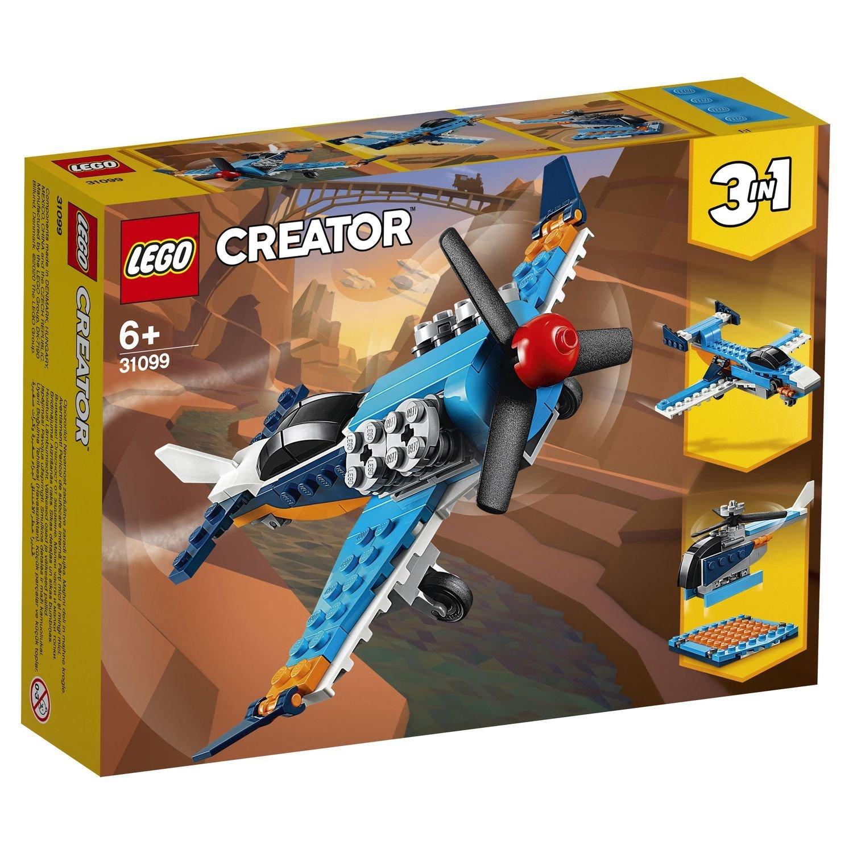 Конструктор Lego Creator Винтовой самолёт конструктор creator lego lego mp002xb00cac