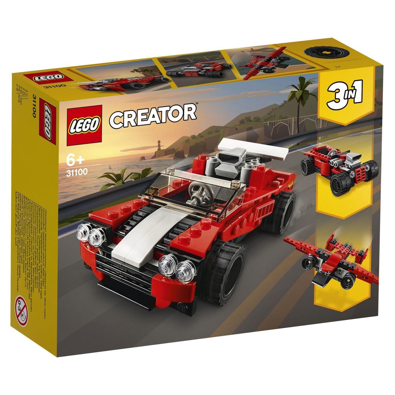 Конструктор Lego Creator Спортивный автомобиль конструктор creator lego lego mp002xb00cac
