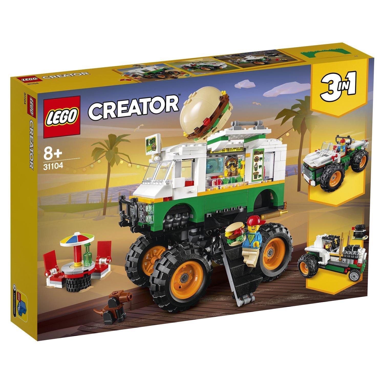 Конструктор Lego Creator Грузовик монстрбургер конструктор creator lego lego mp002xb00cac
