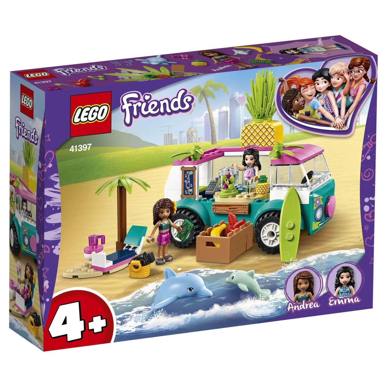 Конструктор Lego Friends Фургон-бар для приготовления сока фото