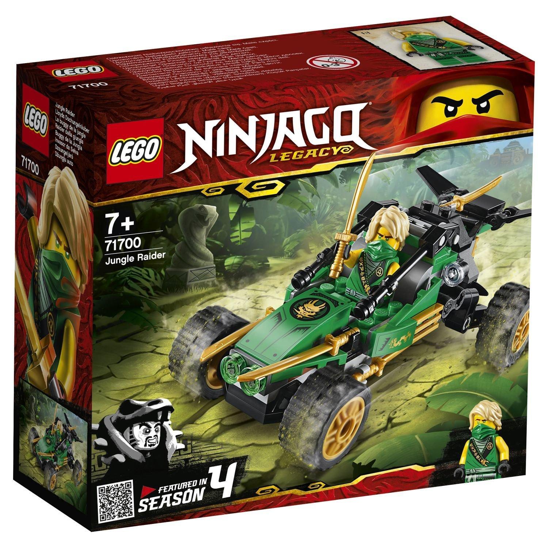 Конструктор Lego Ninjago Тропический внедорожник lego lego ninjago внедорожник катана 4x4