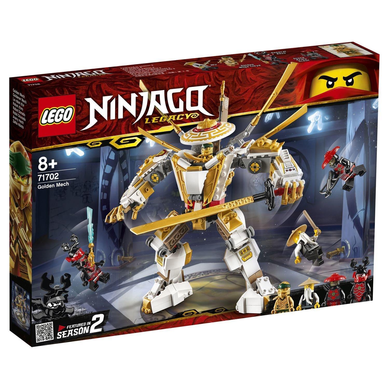 Конструктор Lego Ninjago Золотой робот lego lego ninjago внедорожник катана 4x4
