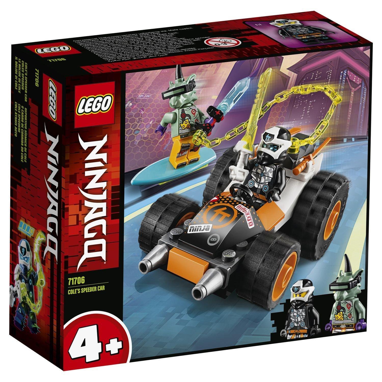 Конструктор Lego Ninjago Скоростной автомобиль Коула lego lego ninjago внедорожник катана 4x4