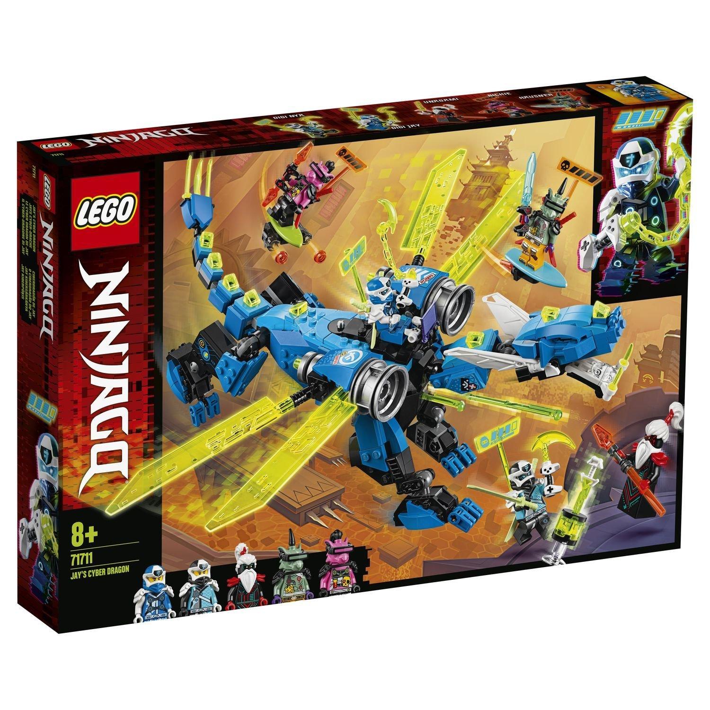 Конструктор Lego Ninjago Кибердракон Джея lego lego ninjago внедорожник катана 4x4