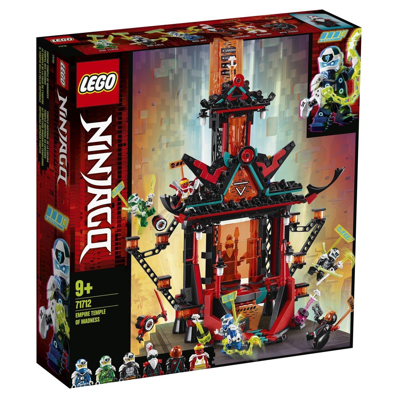 Фото - Конструктор Lego Ninjago Императорский храм безумия конструктор lego ninjago бронированный носорог зейна