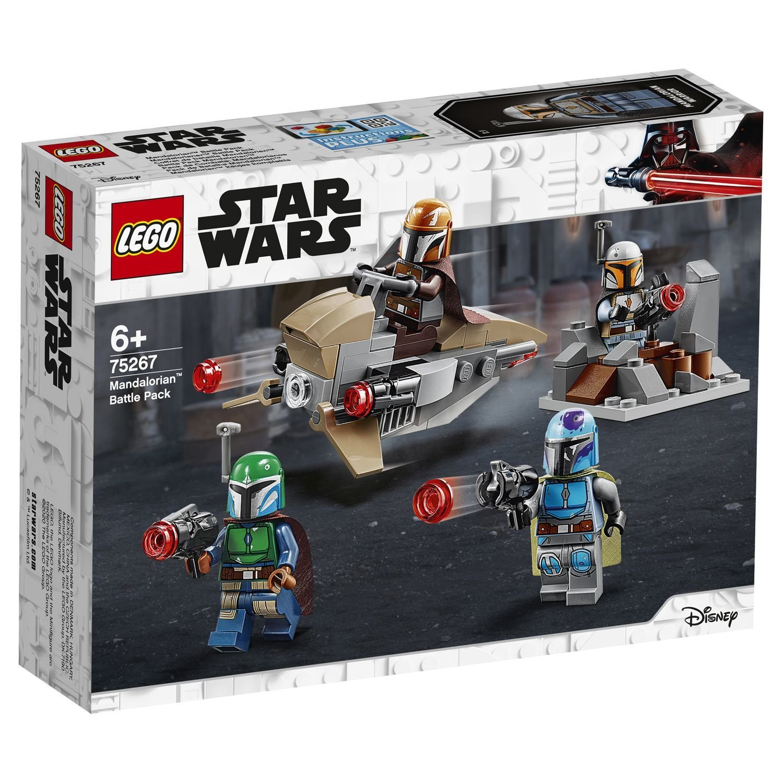 Конструктор Lego Star Wars Боевой набор: мандалорцы конструктор lego star wars микрофайтеры 75263