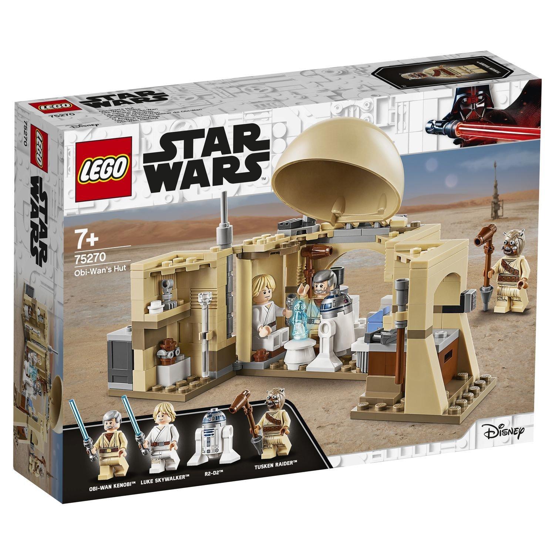 Конструктор Lego Star Wars Хижина Оби-Вана Кеноби
