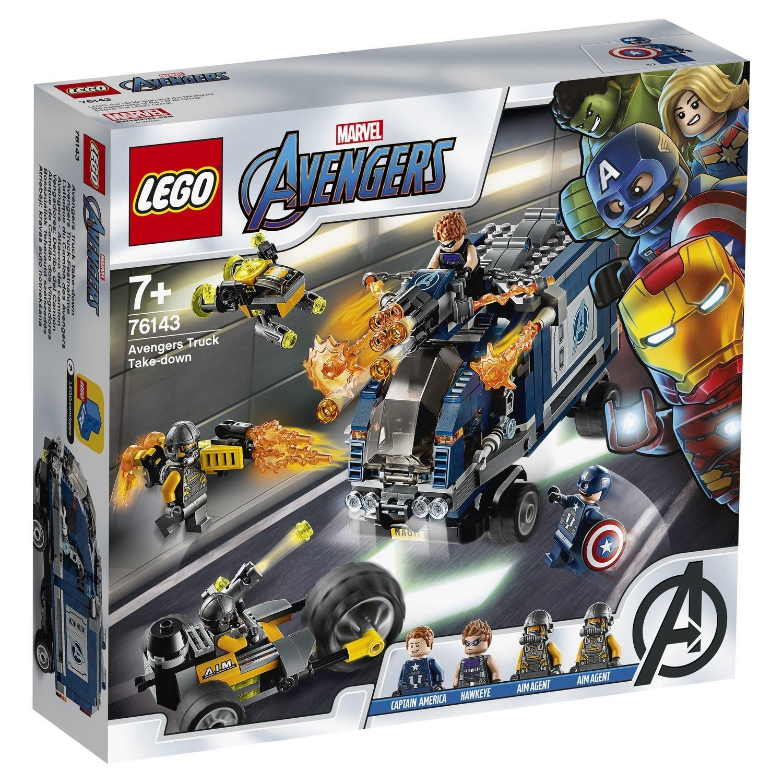 Конструктор Lego Avengers Мстители: нападение на грузовик lego нападение на планетуэндор разноцветный