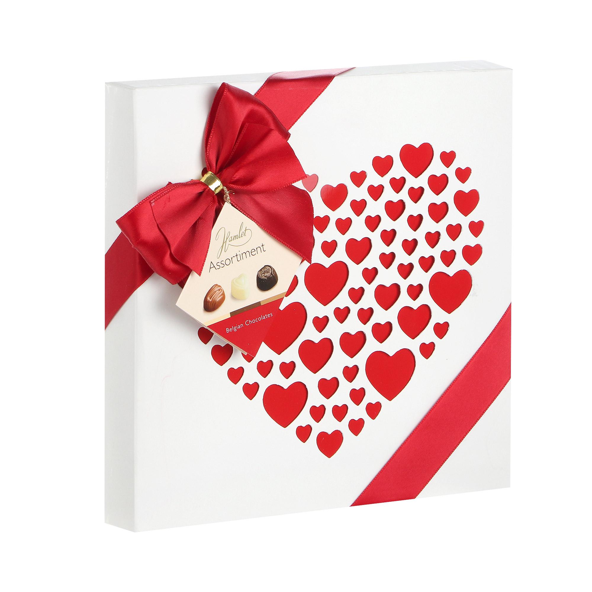 Конфеты шоколадные Hamlet Chocolates Heart 250 г фото