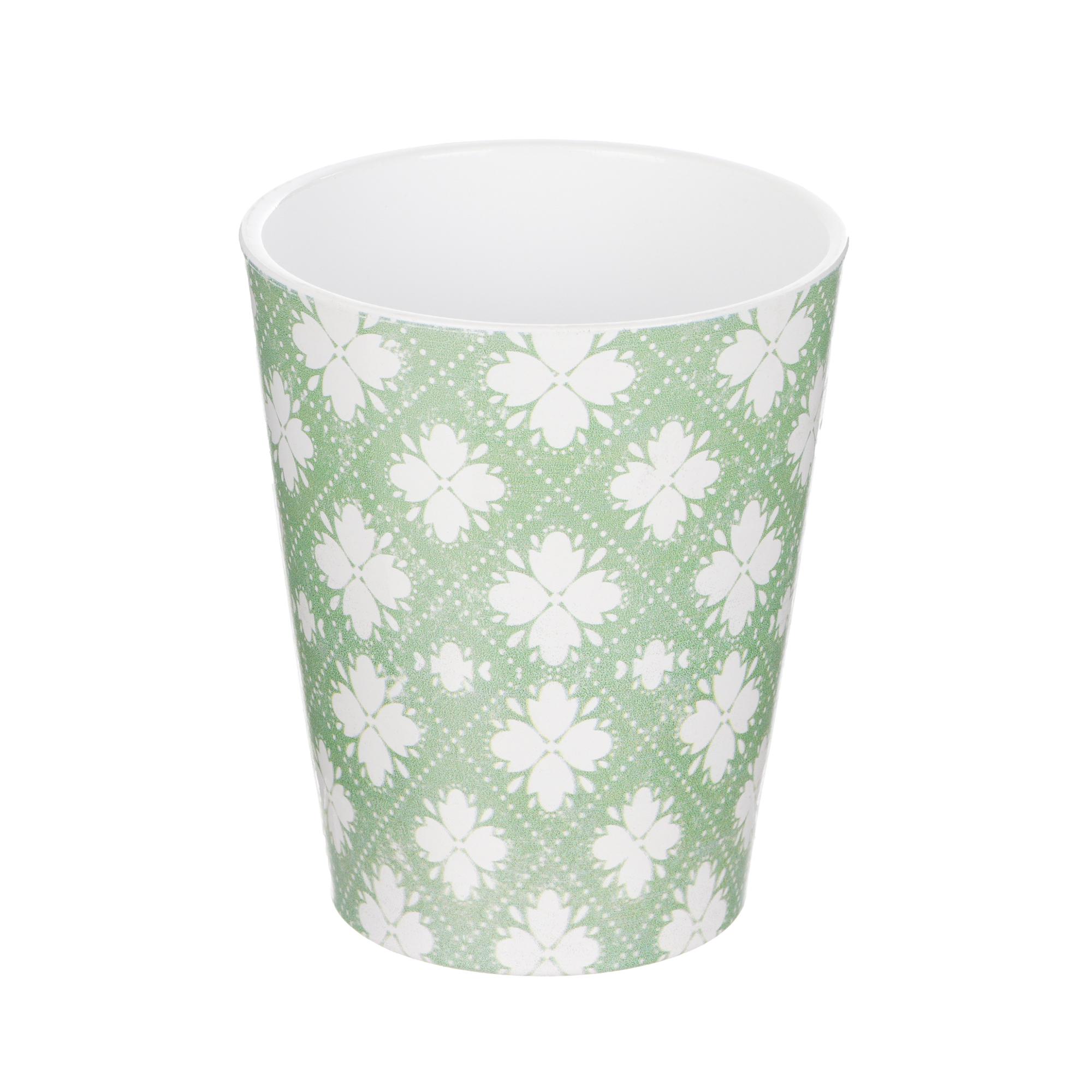 Кашпо для орхидей Soendgen medina d15 зелено-белое недорого
