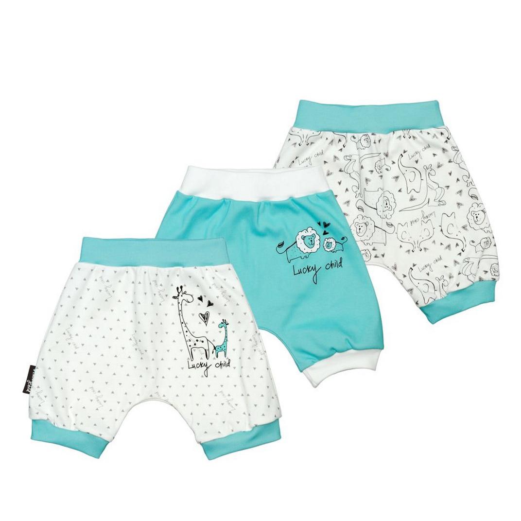 Комплект шортов Lucky Child Зоопарк 3 шт 74-80