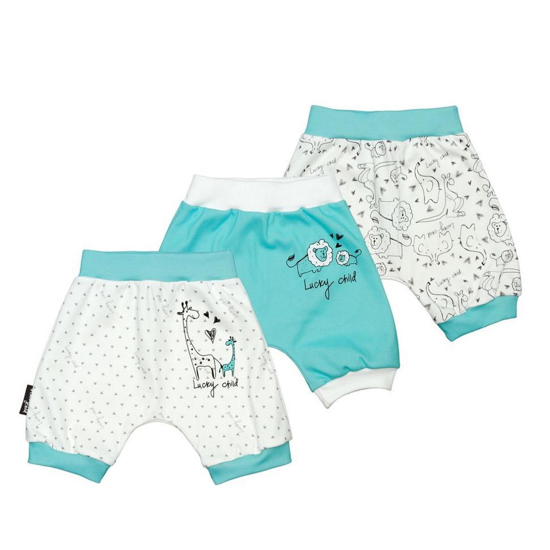 Комплект шортов Lucky Child Зоопарк 3 шт 86-92