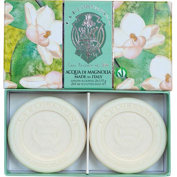 Набор мыла La Florentina Свежая магнолия 2 х 115 гр