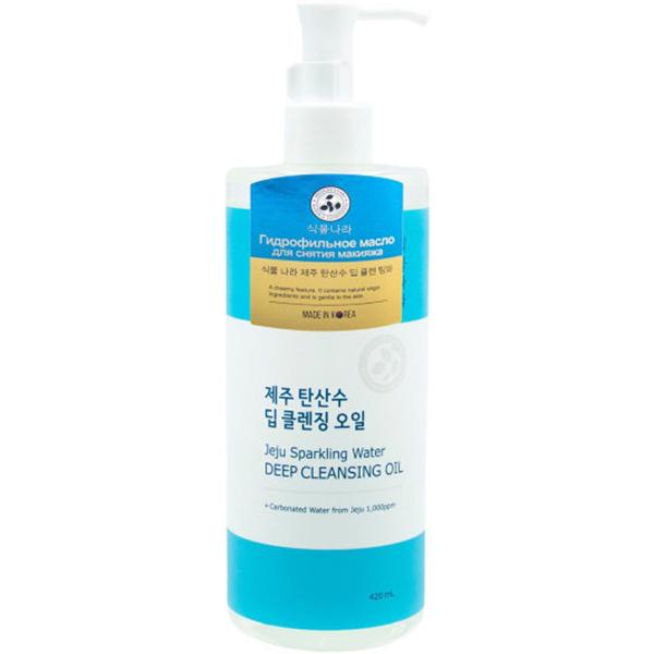 Масло Shingmulnara Jeju Sparkling Water 420 мл крем для лица shingmulnara jeju sparkling water гидрирующий 100 мл