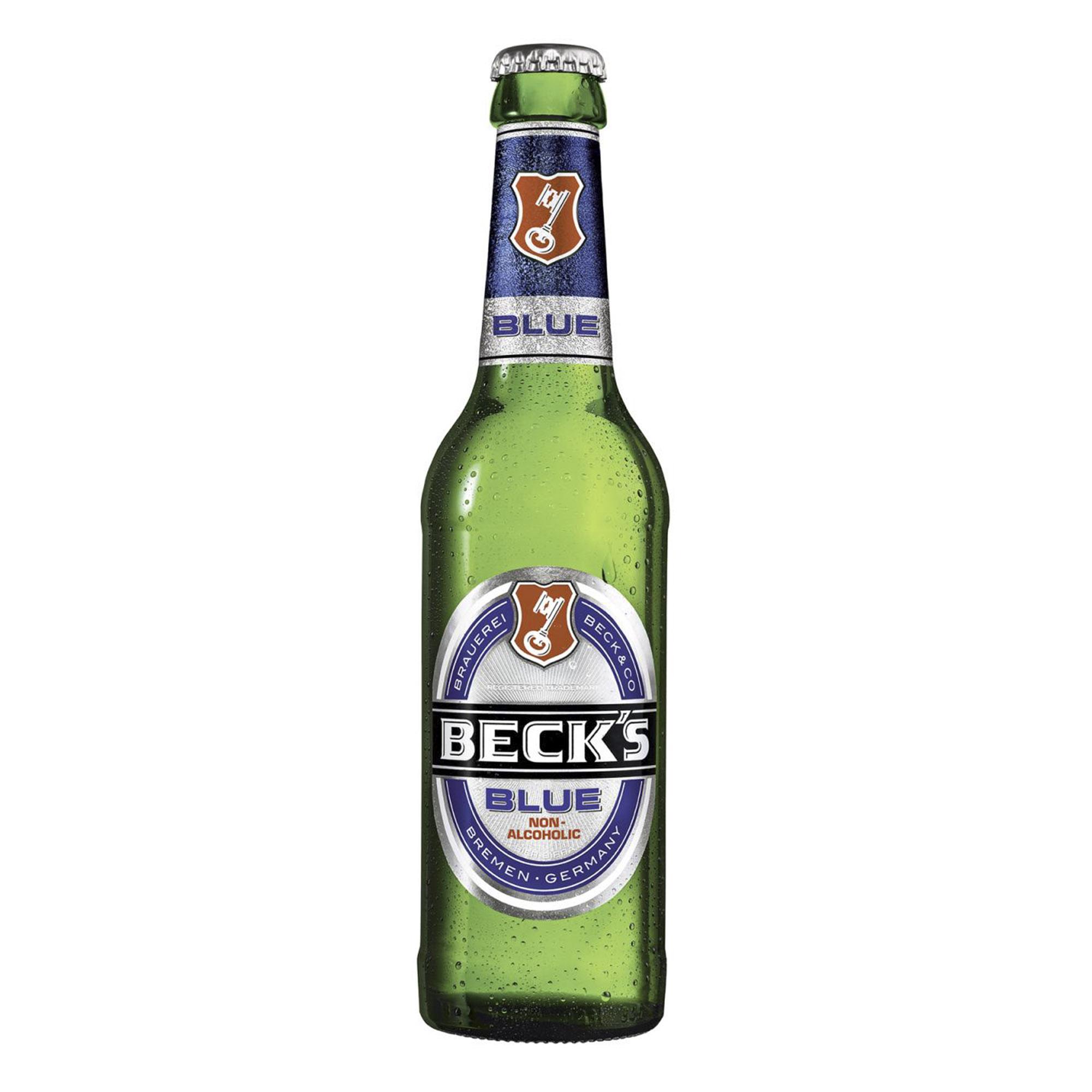 Пиво безалкогольное Beck's Blue 330 мл