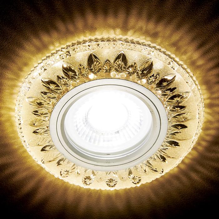 Светильник Ambrella Light s305 ch/w хром/прозрачный хрустальный/mr16 светильник ambrella classic a801 w