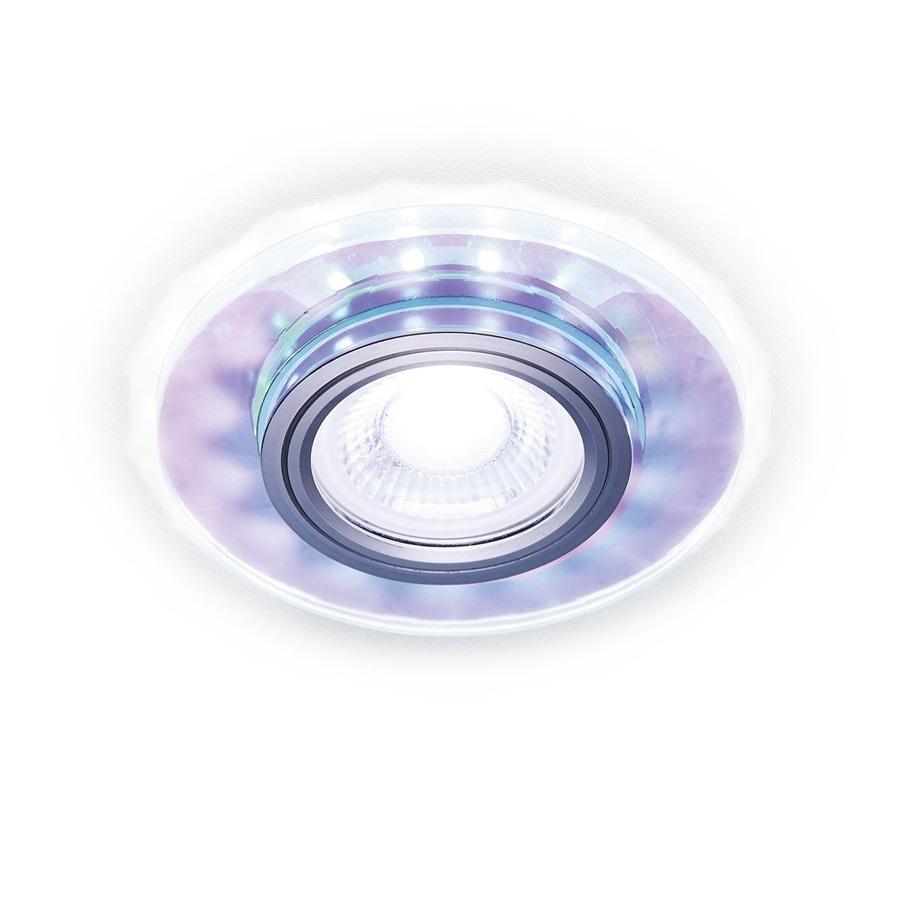 Светильник Ambrella Light s211 pr/wh хром/перламутровый mr16 встраиваемый светильник ambrella light compo led s211 pr wh
