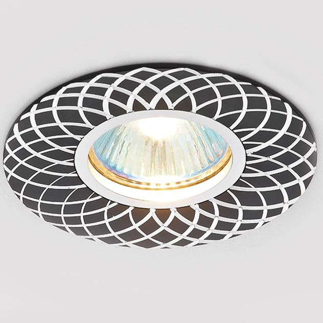 Светильник Ambrella Light a815 bk/al сатин/черный mr16 встраиваемый светильник ambrella light a801 bk al