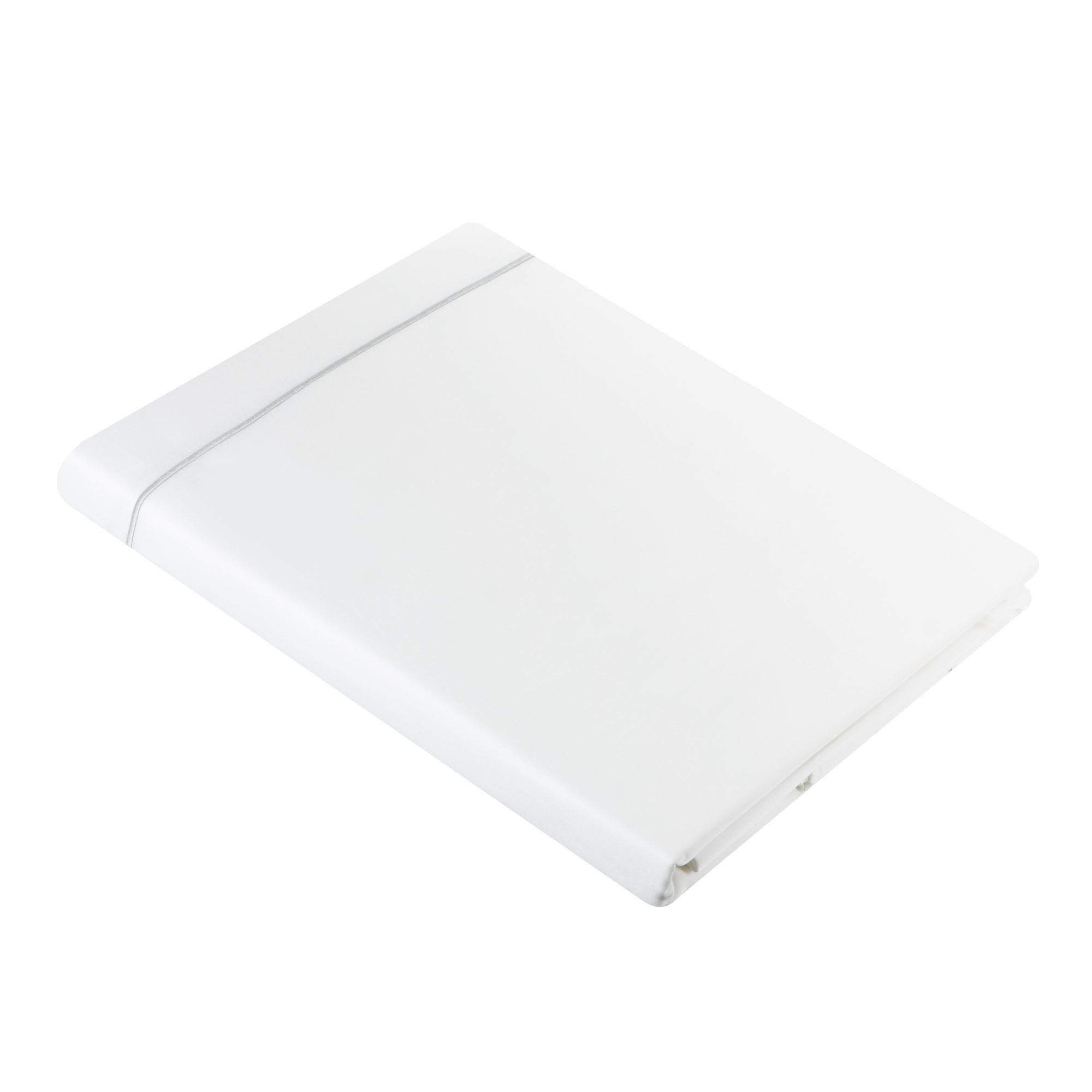Пододеяльник Togas Джаспер белый/серый 200x210