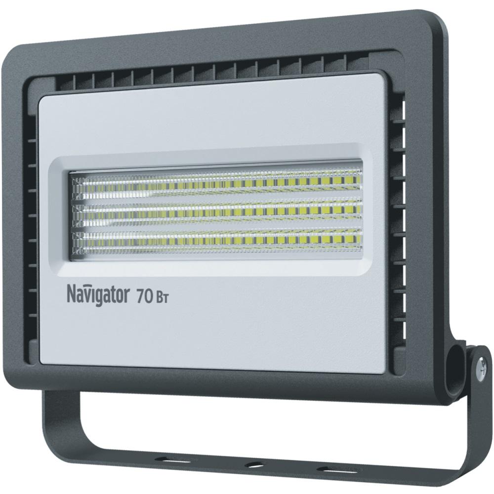 Прожектор светодиодный Navigator 70 вт 4000К холодный свет