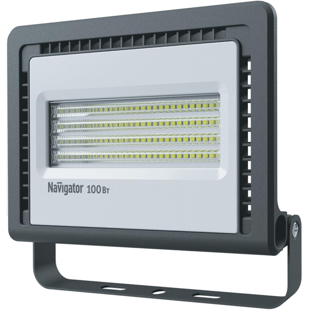 Прожектор светодиодный Navigator 100 вт 4000К холодный свет