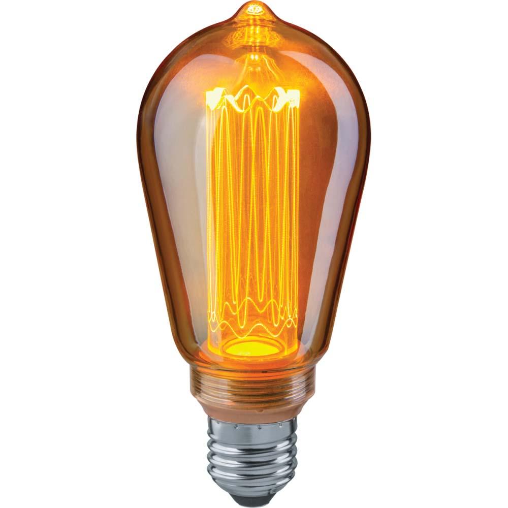 Фото - Лампа Navigator led ретро/винтаж/loft колба st64 4вт e27 bokt минималистский 1 light стенные подсвечники винтаж делают железо просто ретро огонь