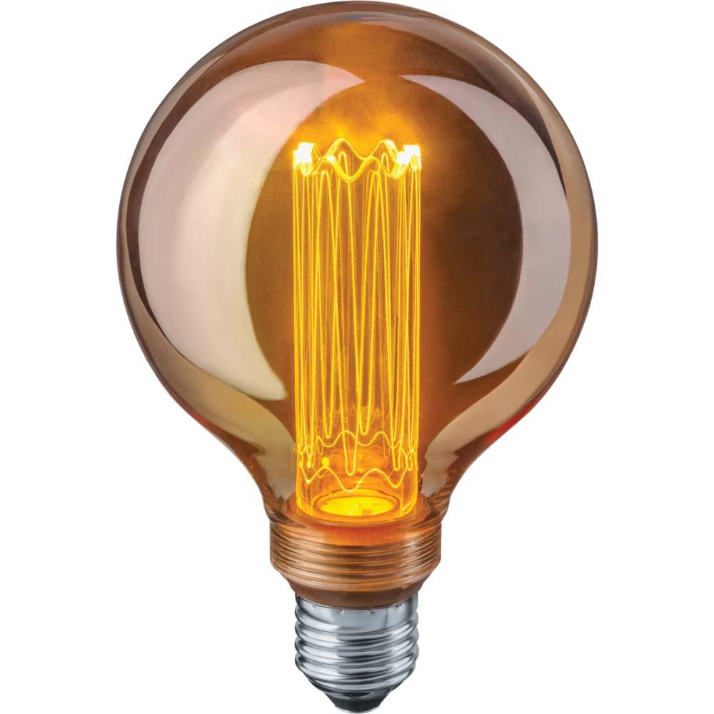 Фото - Лампа Navigator led ретро/винтаж/loft шар g95 4вт е27 bokt минималистский 1 light стенные подсвечники винтаж делают железо просто ретро огонь