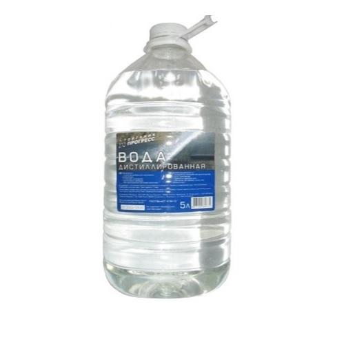 Вода дистиллированная Sibiria 5л.