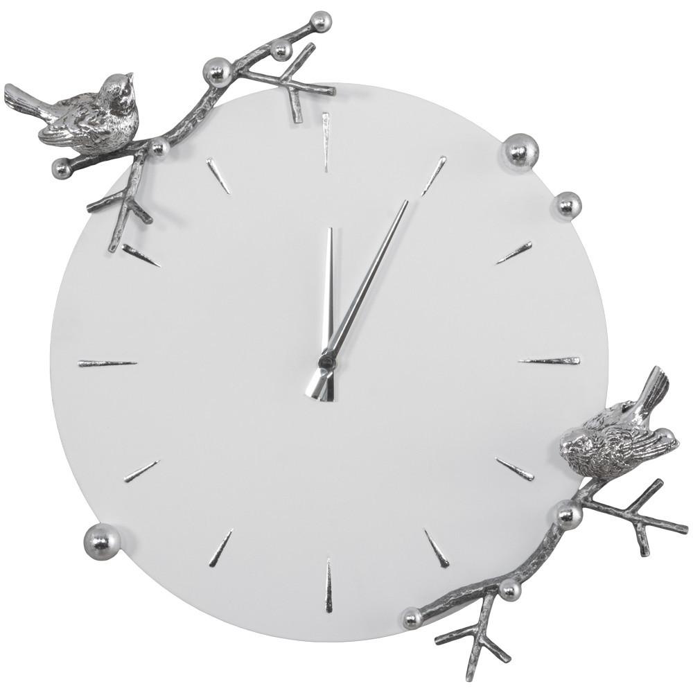 Часы Bogacho Терра, Айс(БЛ)-(АСр) Корпус:Айс(БЛ), цвет ковки - Античное серебро(АСр) столик декоративный bogacho терра роуз веер айс бл цв к античное серебро аср