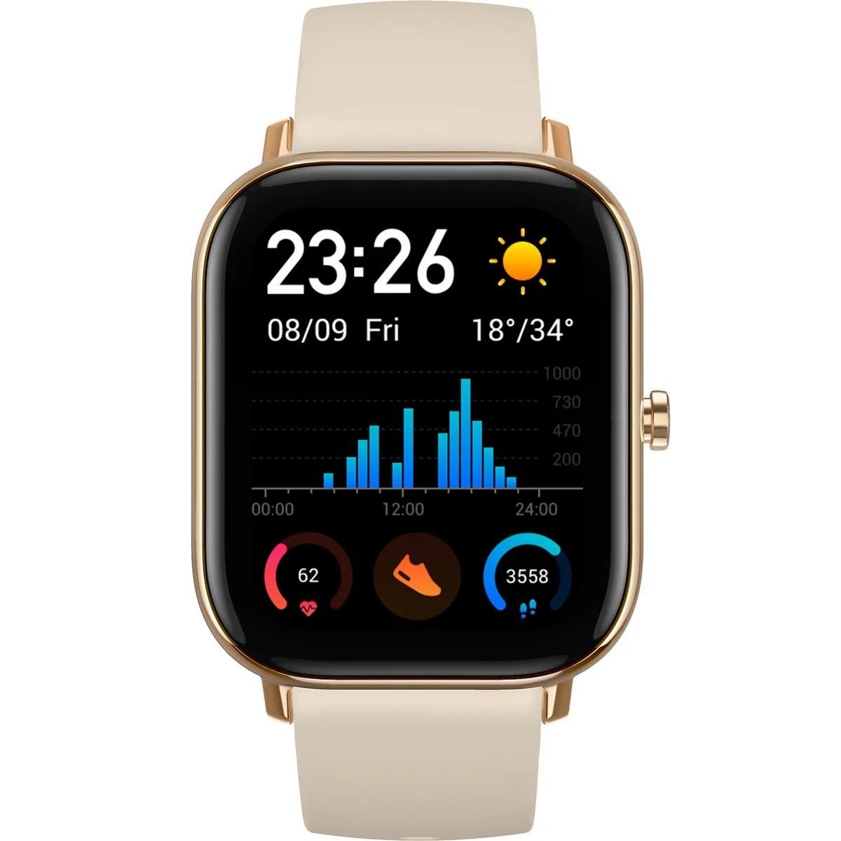 Фото - Умные часы Xiaomi Amazfit GTS A1914 Desert Gold printio часы круглые из дерева знак зодиака водолей