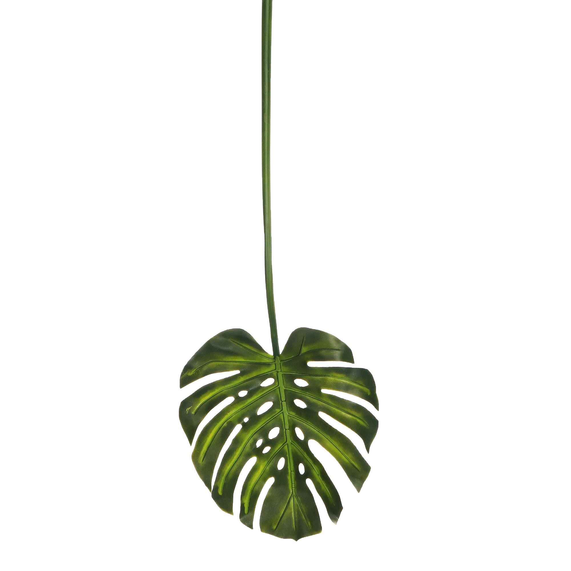Растение искусственное Конэко-о Лист монстеры 96 см фото