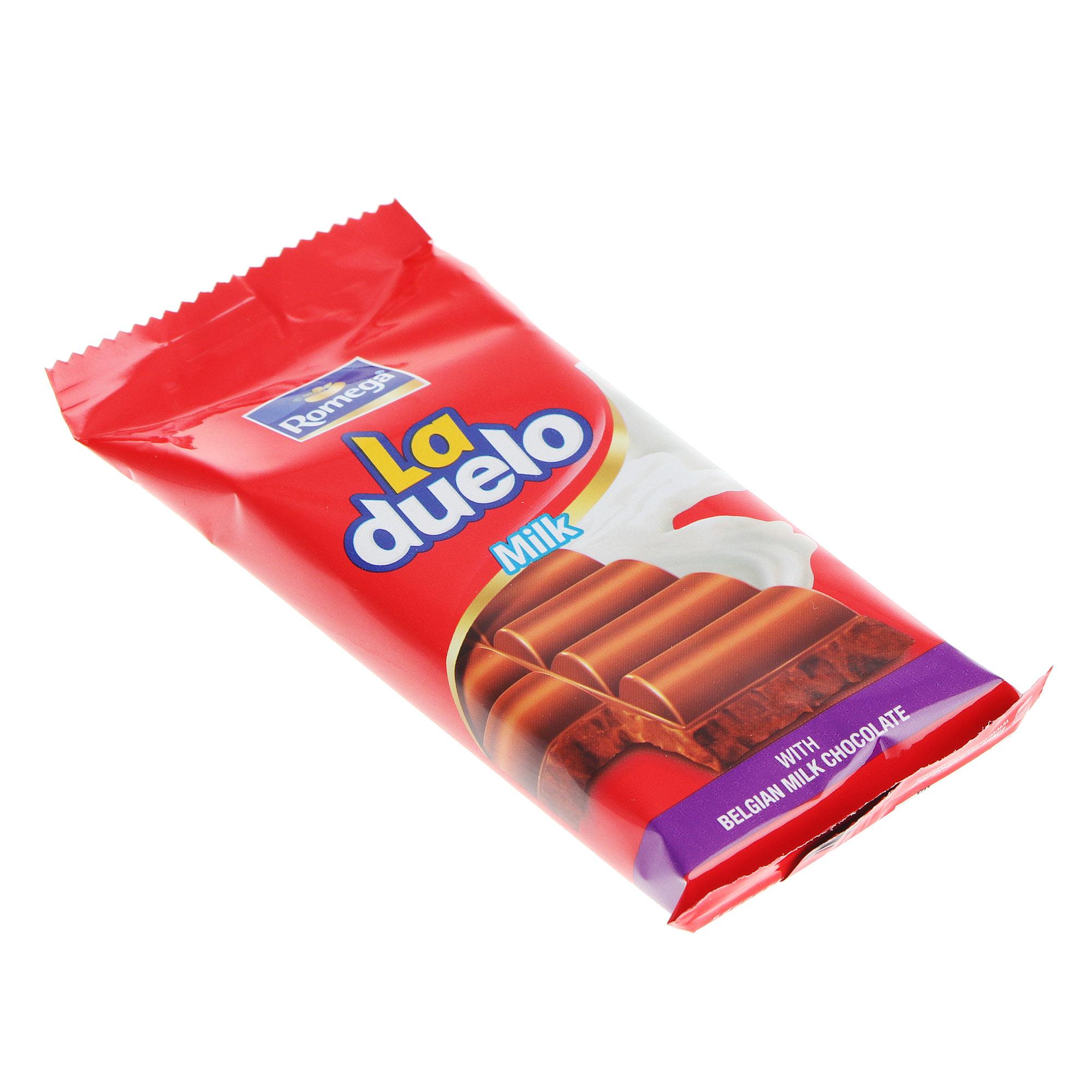 Шоколад молочный Romega La Duello 60 г фото