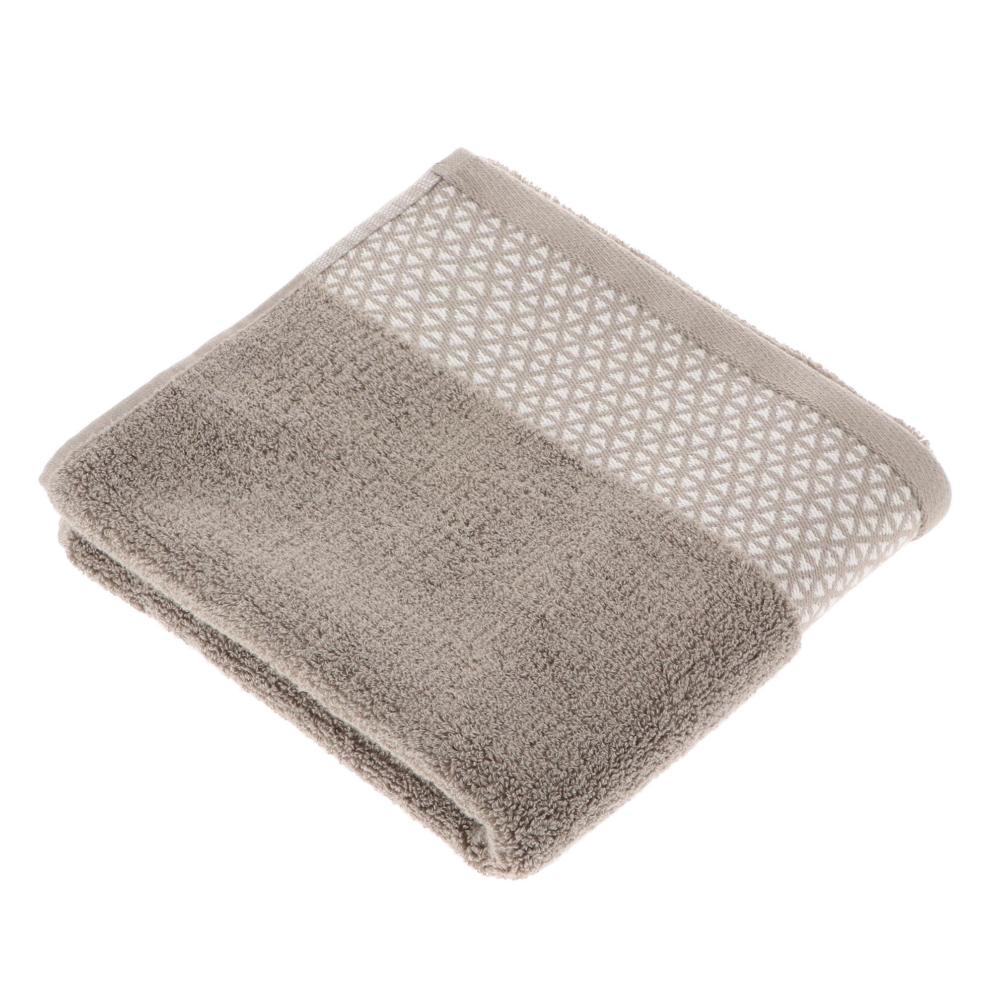 Полотенце махровое Cleanelly/вафельное сенсо 90х150 пестротканное цвет оливковый фото