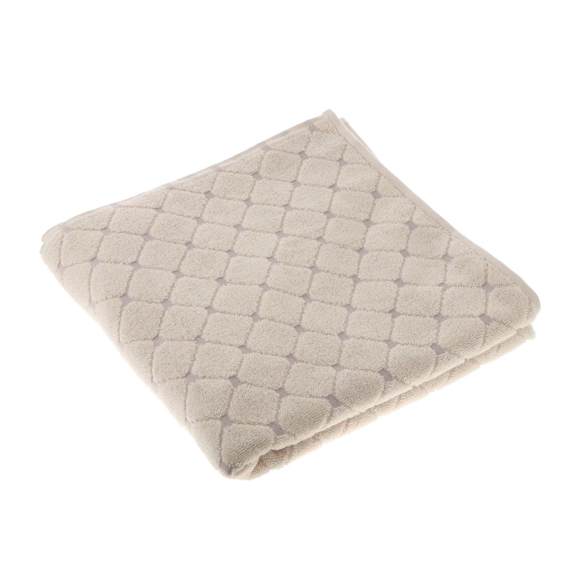 Полотенце махровое Cleanelly Фионда 70х140 молочный фото