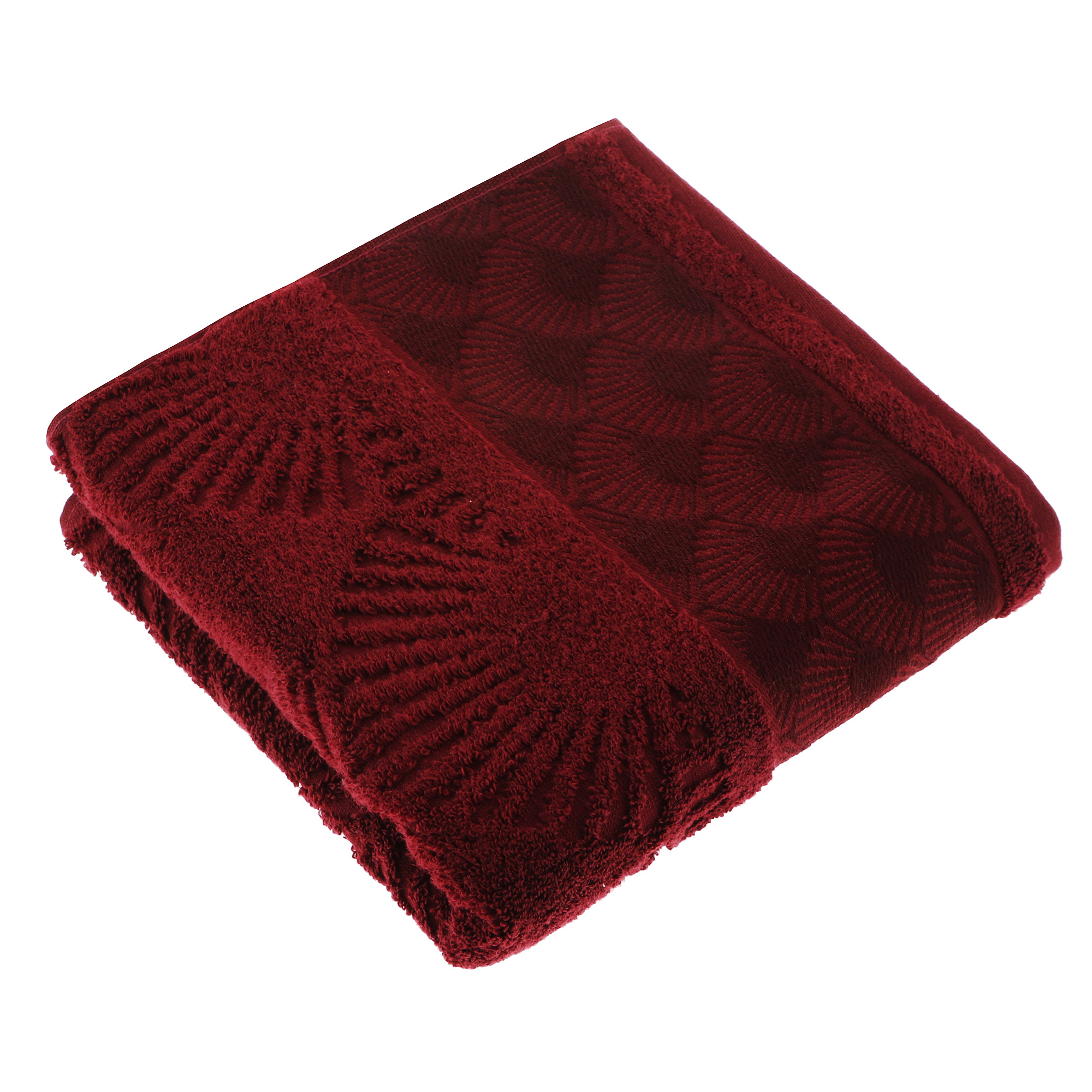 Полотенце махровое Cleanelly пакконто 100х150 см фото