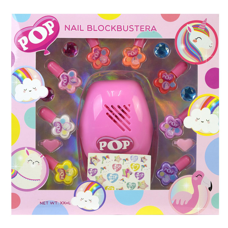 Фото - Набор детской косметики Markwins POP для ногтей набор детской декоративной косметики markwins pop в пенале 3800151