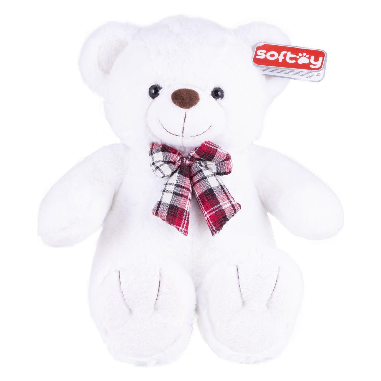Игрушка мягкая Softoy Медведь 50 см мягкая игрушка нижегородская игрушка зоопарк с бантиком медведь 40 см