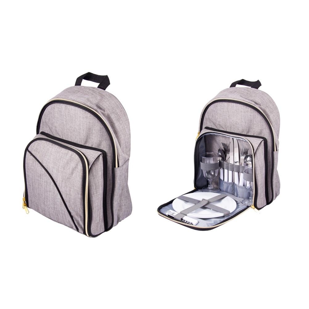 Набор для пикника Русские подарки на 2 персоны в рюкзаке 29х19х37 см