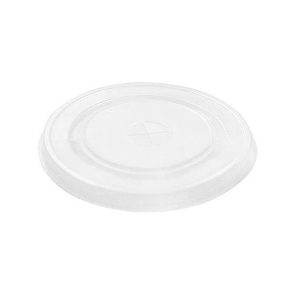 Крышка для стаканов Мистерия прозрачные 9 см 5 шт