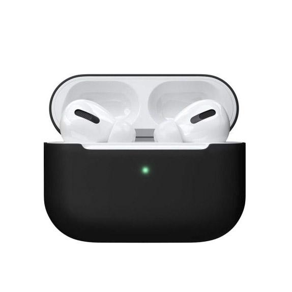 Чехол Red Line для наушников Apple AirPods Pro, черный чехол red line для apple airpods pro с карабином black