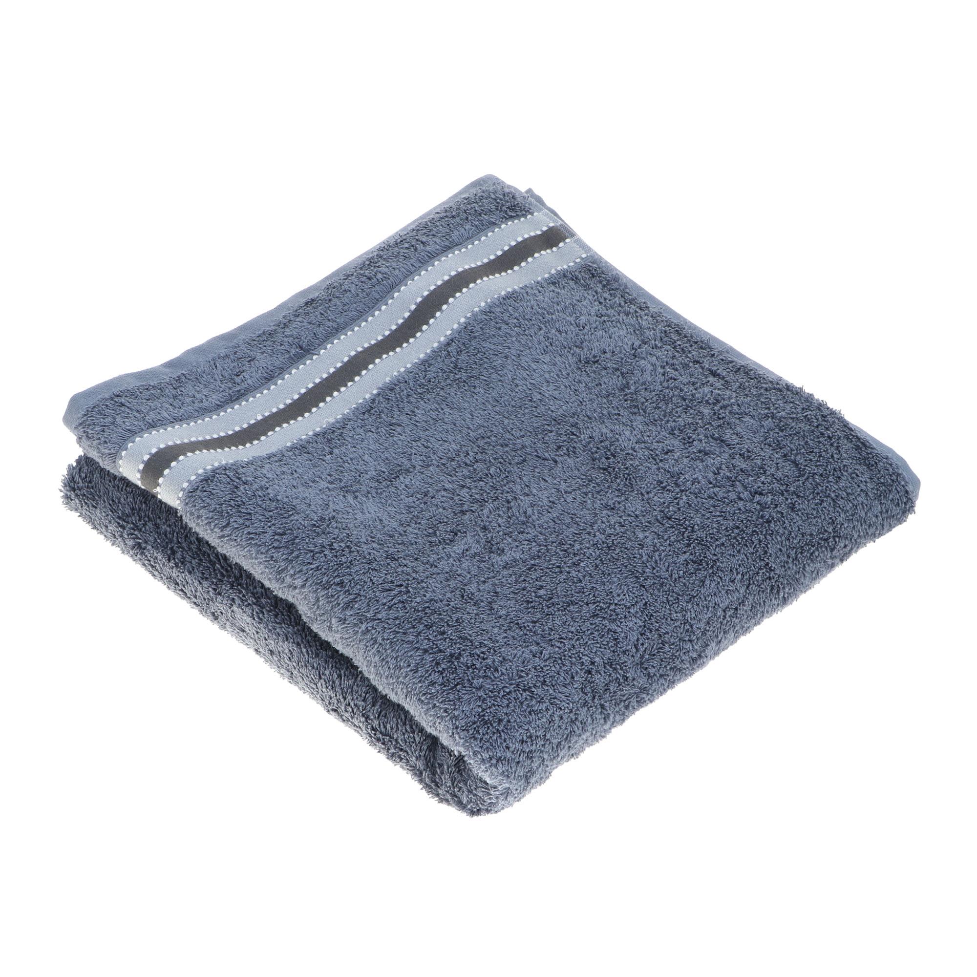 Полотенце махровое Asil Lux lines blue 70x140 см полотенце двустороннее asil powder 70x140 см