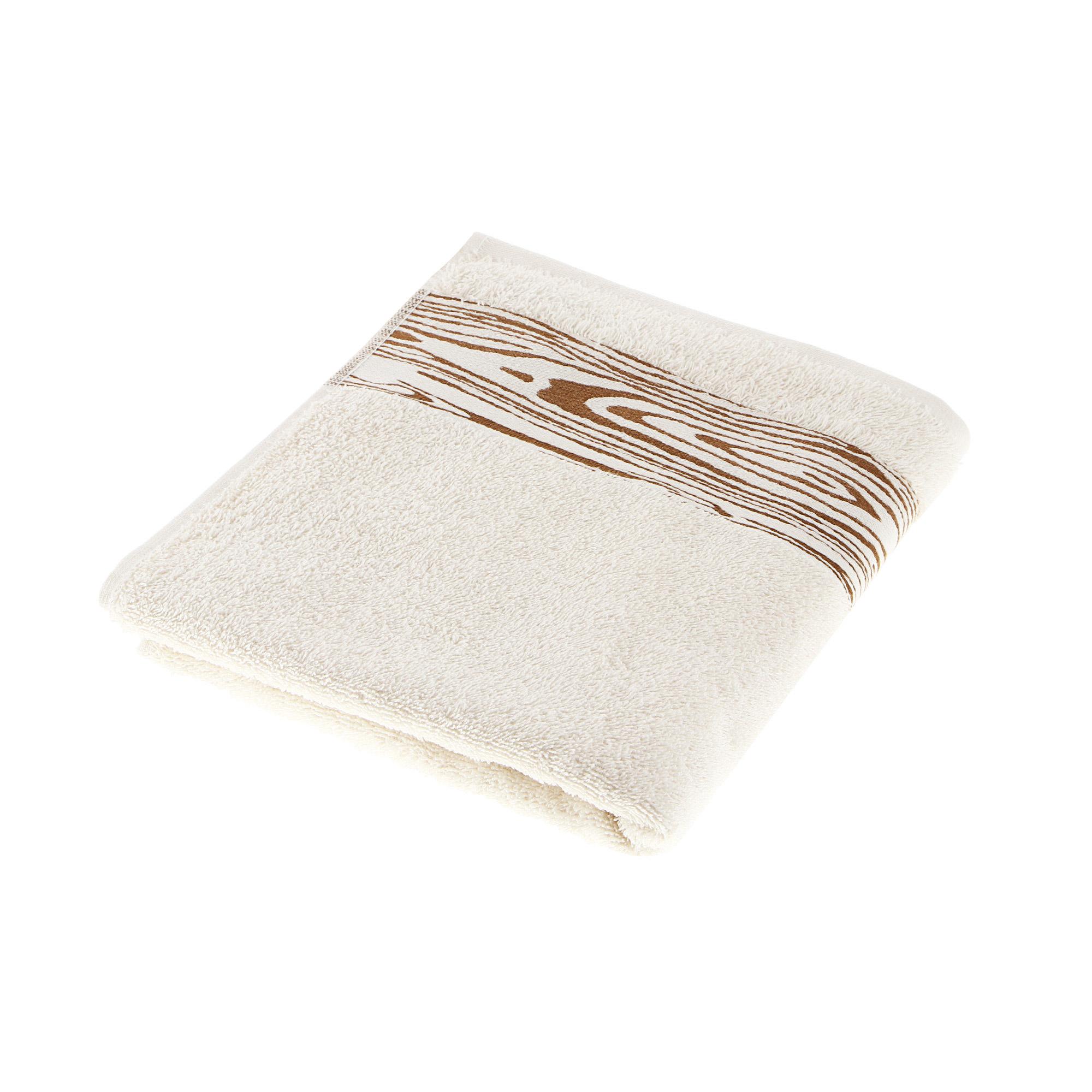 Полотенце махровое Asil wood 50x100 cream полотенце двухстороннее 50x100 asil powder