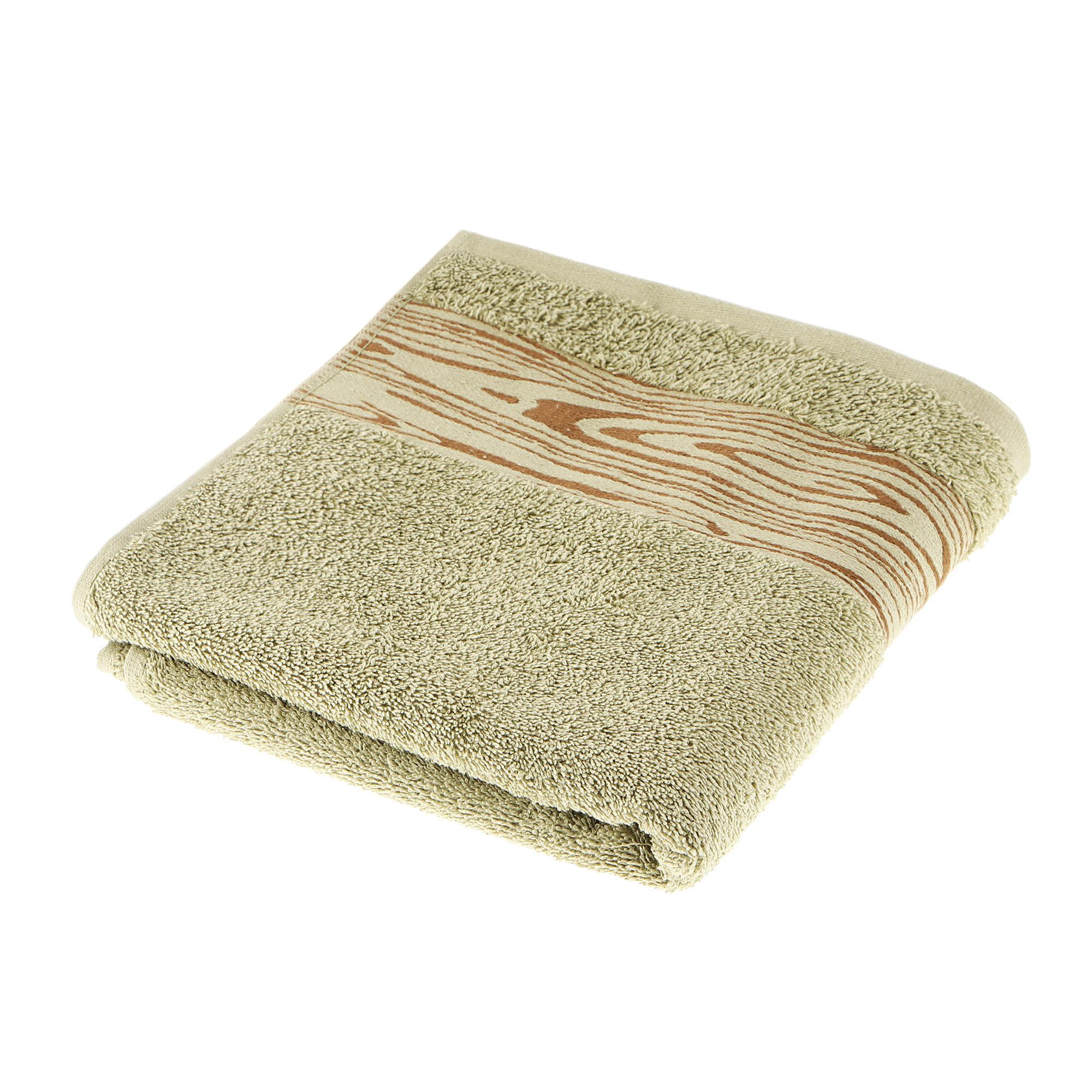 Полотенце махровое Asil wood 50x100 green полотенце двухстороннее 50x100 asil powder