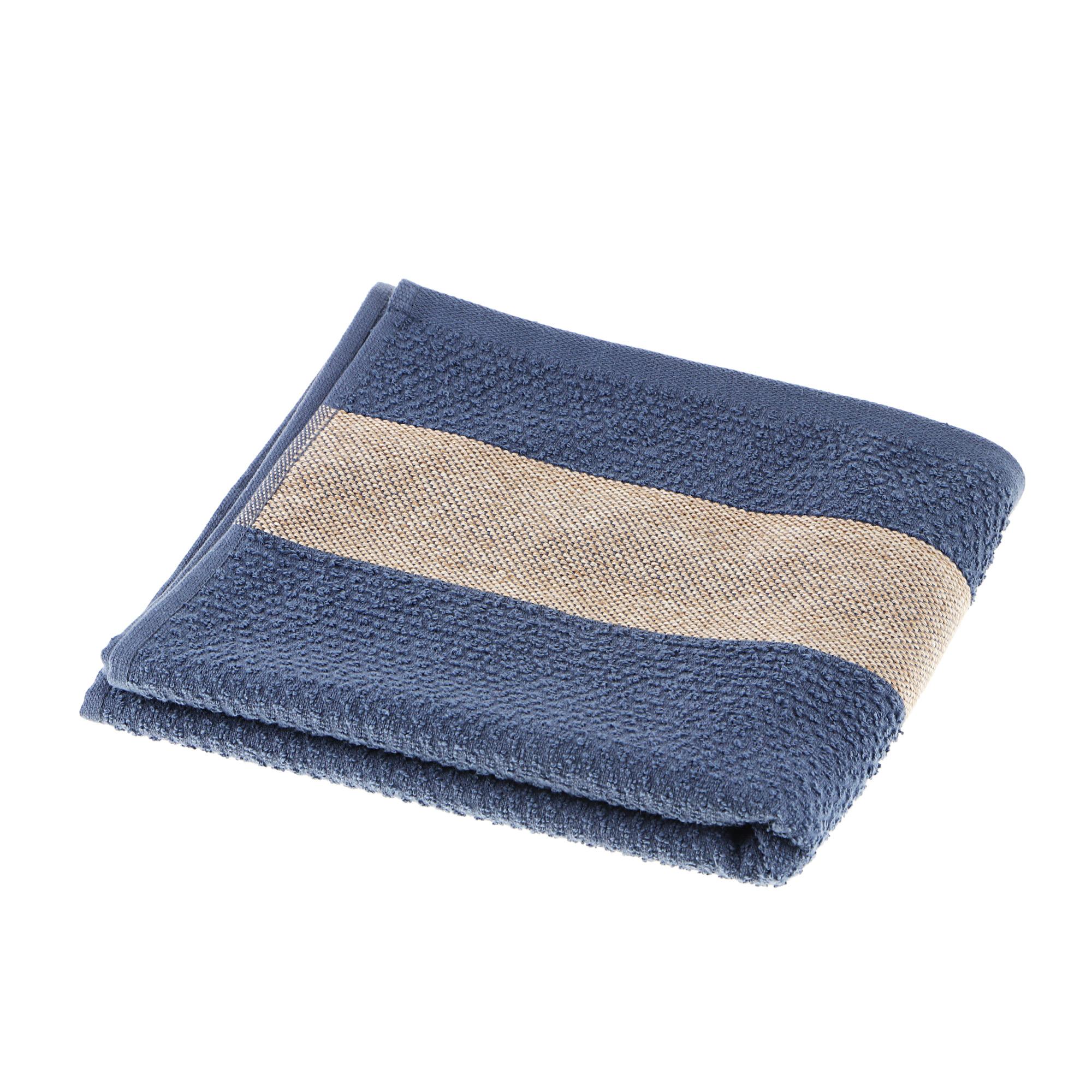 Полотенце махровое Asil woody 50x100 d.blue полотенце двухстороннее 50x100 asil powder