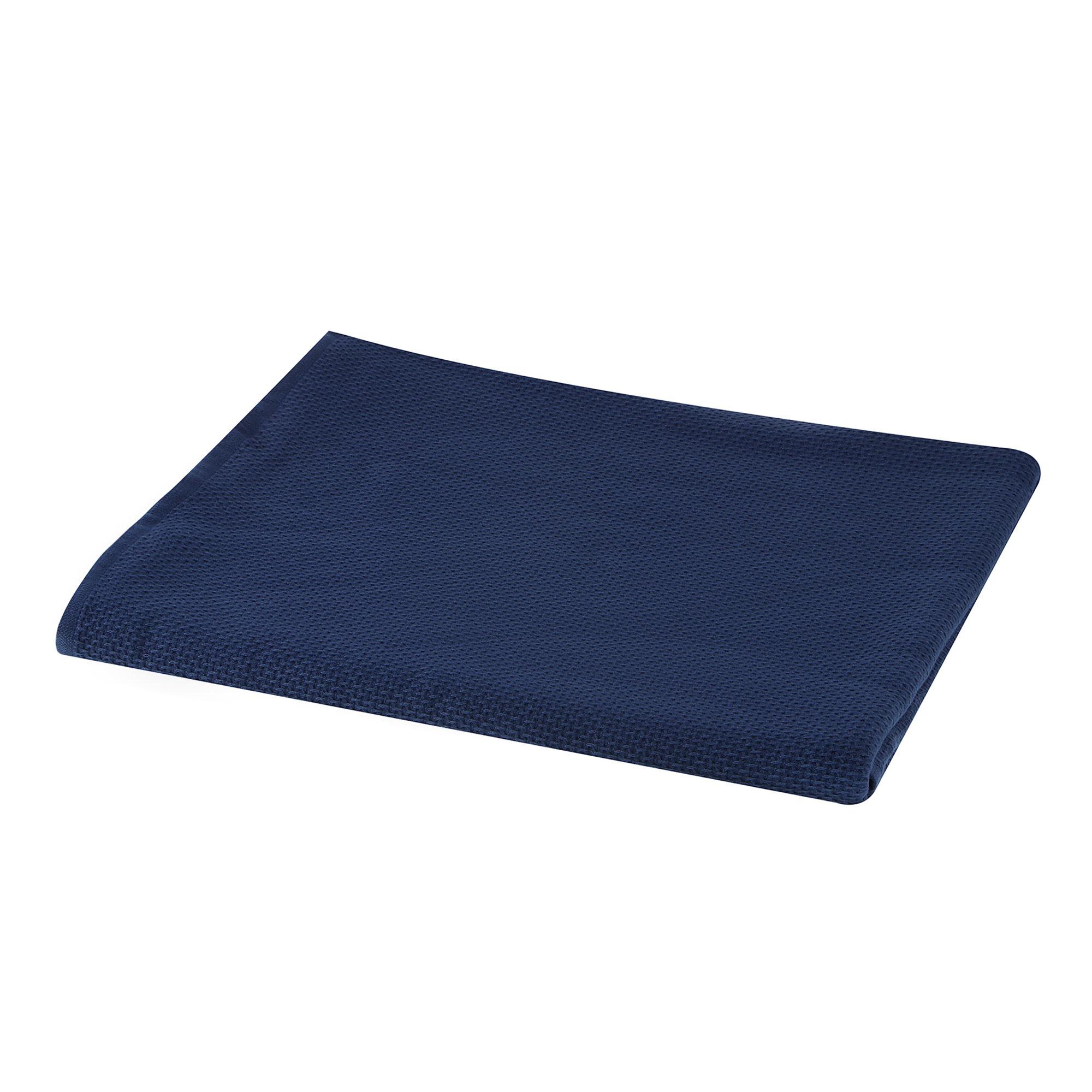 Полотенце двухстороннее Asil 50x100 d.blue.